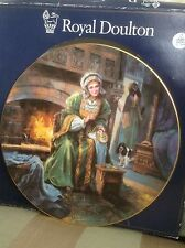 BNIB Royal doulton plate collectors gallery edition ANNE OF CLEVES PN 117