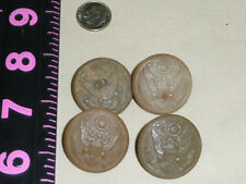 4 Eagle Military Buttons US Military