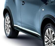 Nissan Juke Genuine Chrome Door Sill Protectors Set Protective Strips KE7601KA00