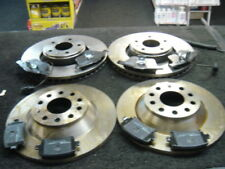 Audi A6 2004-2011 2.0TD TDi FRONT REAR BRAKE DISCS AND BRAKE PADS DISC PAD