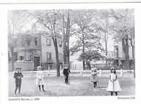 "*Postcard-""Children Posing @ Lafayette Square, 1888""   *Savannah, Georgia (#123)"