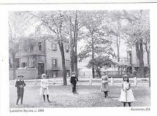 """Children Posing @ Lafayette Square, 1888""  *Savannah, Georgia {Postcard} (#123)"