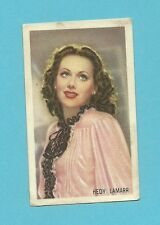 Hedy Lamarr .  Vintage Kwatta Movie Star Card  Have a Look! B