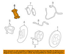 Buick GM OEM 14-16 Regal Brake-Rear-Disc Caliper Mount Bracket Left 22796450