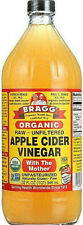 Bragg Organic Apple Cider Vinegar 32 Oz - With The Mother-NEW-SEALED-FREE SHIP