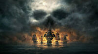 Best Gift Pirates Ship Seascape Oil Painting Print On Canvas Home Art Wall Decor