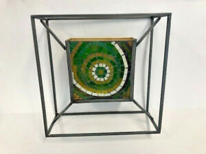 Candle Sconce, Indoor Decorative Glass Metal Wall Sconce Candle Holder