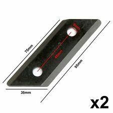 2 X Schredder Klingen Für Garten Master GMES2 & Masport Bio Wizz 2500 2000 1800