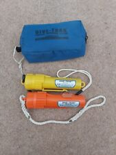 Dive-Trak Beacon And Receiver With Carry Case Pristine Condition Diving Tracker
