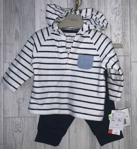 Boys Age 0-3 Months - BNWTS Hooded Top & Trousers