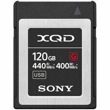 Sony QD-G120F XQD 120GB 440 MB/s High Performance Memory Card - Black