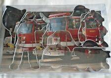 Firemans 5pc Cookie Cutter Set