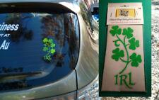 Irish Shamrock Car Decal