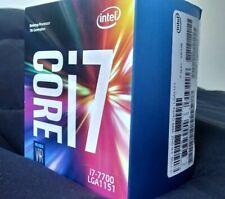 Intel Core i7-7700 Quad-core (4 Core) Processor   3.60 to 4.20 GHz CPU LGA 1151