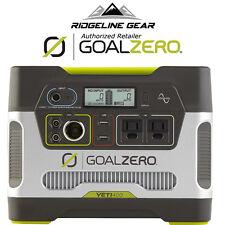 Goal Zero Yeti 400 Solar Generator Power Pack Recharger
