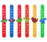 6 Dinosaur Snap Bracelets - Pinata Toy Loot/Party Bag Fillers Childrens/Kids