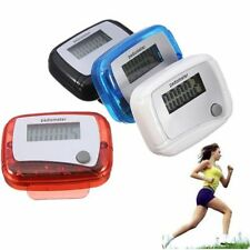 Portable Unisex Clip On LCD Digital Running Step Counters Pedometer Color Random