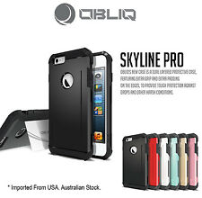 Genuine Obliq Bumper Shock Scratch Resist Armor case cover iphone 6 4.7 Black