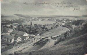 Ansichtskarte Sachsen  Böhrigen  1905  Bahnpost  Feldpost