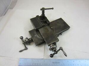 Vintage Hardinge Bothers No. 984 Precision Compound Cross Slide Tool Post Rest