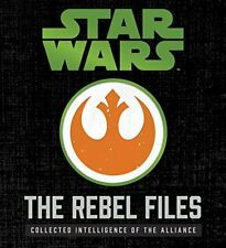 Paperback 2017 Star Wars The Rebel Files Deluxe Edition Removable Features