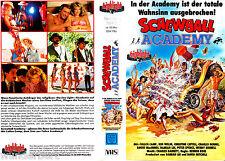 "VHS - "" Screwball ACADEMY "" (1986) - Colleen Campamento - Kenneth Welsh"