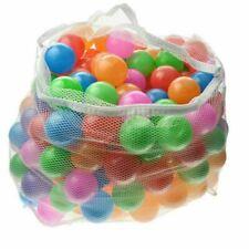 100x Baby Kid Pit Toy Game Swim Pool Soft Plastic Ocean Ball 5.5cm Us Fast Ship