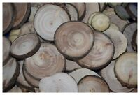 ca. 1 kg  -  Astscheiben Baumscheiben Holzscheiben, basteln, 2. Wahl, D: 1-8 cm