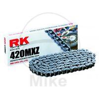 RK Motorrad Standard Kette 420 MXZ 108 Glieder Offen + Clipschloss