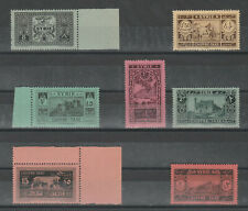 Syria, Postage Due Set of 1925, MINT NEVER HINGED.