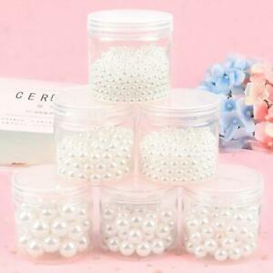 3-30mm white ABS Imitation Pearl Beads Jewelry Making craft Grament clothes