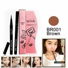 Brown Monomola 7 Days Eyebrow Tattoo Pen Liner Long Lasting Eye Cosmetic Make Up