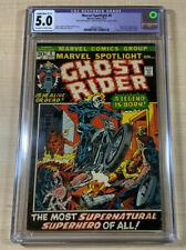 Marvel Spotlight #5! CGC 5.0! (restored) 1st Ghost Rider! Nice Copy! Marvel 1972