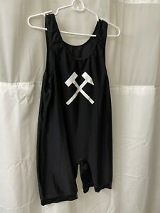 Black Freestyle Cut Singlet Men's Extra Large Applause Apparel