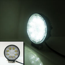 E-MARKED 24 W LED LAVORO SUPER Spot Lampada Luce Flood Beam RIMORCHIO BARCA 12V 24V