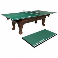 Dunlop TTT412_037D Official Size Table Tennis Conversion - White/Green
