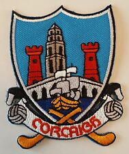 Cork County GAA Gaelic Hurling Football iron on/ sew embroidered patch badge