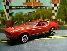 1971 Ford Mustang Mach 1, Red - James Bond - Diamonds Are Forever