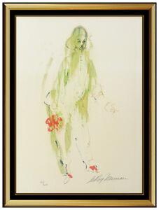 LeRoy Neiman Pierrot Mime Original Color Serigraph Hand Signed Modern Artwork