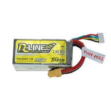 Tattu R-Line LiPo Battery Set 1300mAh 14.8V 95C 4S with XT60 Plug for FPV Racing