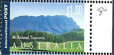 Australia 2002 $1 International Mt Roland Tasmania 1 Kangaroo Reprint:Right