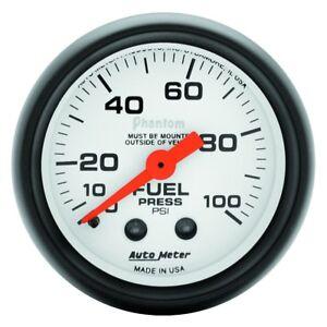 AutoMeter 5712 Phantom Fuel Pressure Gauge, 2-1/16 in.