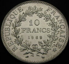 FRANCE 10 Francs 1969 - Silver - aUNC - 2228 ¤