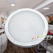 """8.5"""" 12V Ultra Slim LED Panel/Roof Light Cool White Caravan/Motorhome/RV/Boat"""