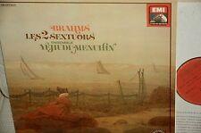GENDRON/MENUHIN*BRAHMS*Sextuors *EMI/PATHE (French HMV)*2LPs *