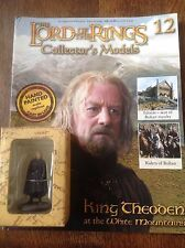 Eaglemoss. Lord Of The Rings Collectors Figure And Magazine. King Theoden.