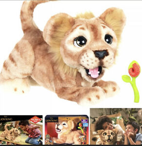 FurReal Disney Lion King Mighty Roar Simba Interactive Plush Toy Sound & Motion