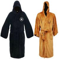 Star Wars Jedi Sith Cosplay Costumes Fleece Bath Robe Bathrobe Pajamas Cloak