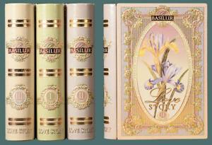 Basilur Ceylon Tea  Love Story Series in 3 Volumes as in  Tea Books