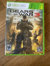 Gears of War 3 (Xbox 360, 2011) Complete. Stickers Included